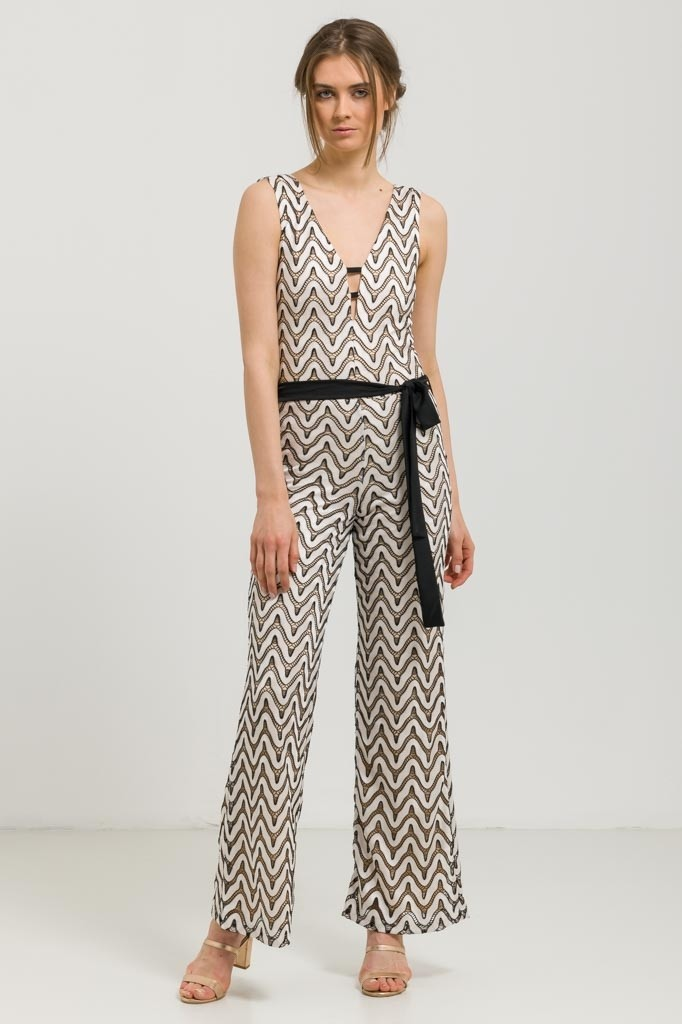 1e8297cb843 Sleeveless Occasion Jumpsuit - Jumpsuits - Clothing