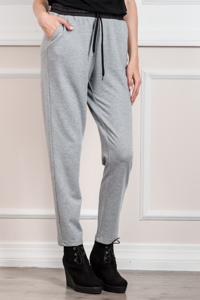 COTTON TRACK SWEATPANTS