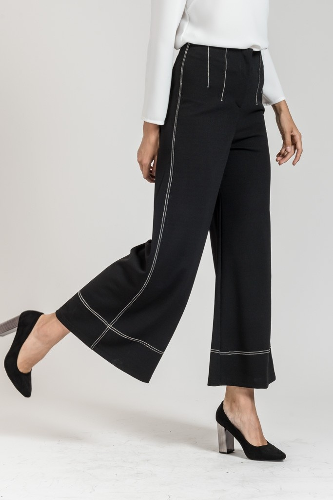 LONG ZIP CULOTTE