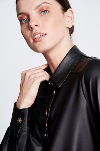 ECO LEATHER SHIRT
