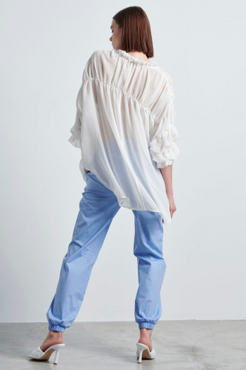 CHIFFON ROMANTIC BLOUSE
