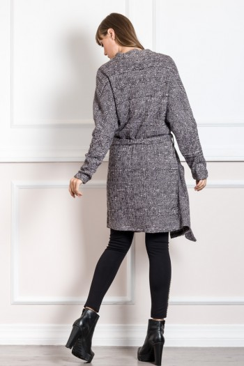 EVE KAY KNIT CARDIGAN WITH BELT