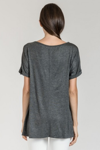 LONG T-SHIRT WITH