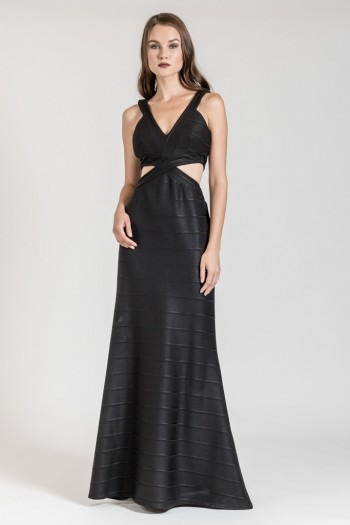 MAXI OCCASION CUT OUT DRESS