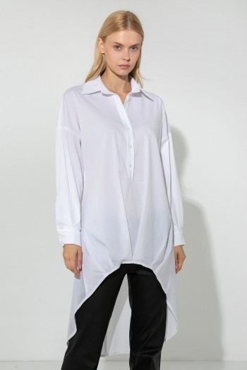 HIGH LOW LONGSLEEVE SHIRT
