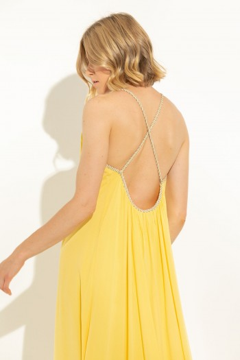 MAXI DRESS WITH X BACK