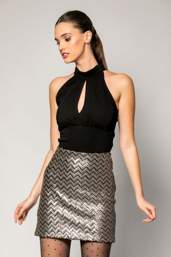 MINI SEQUIN SKIRT