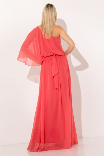 ONE SHOULDER OCCASION MAXI DRESS