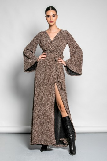 MAXI DRESS WITH SIDE SPLIT