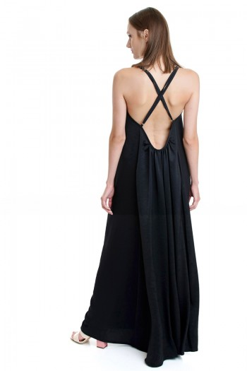 STRAPPY CROSS-BACK DRESS