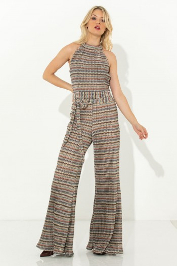 OCCASION JUMPSUIT WITH CUT OUT