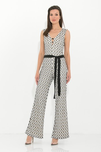 SLEEVELESS OCCASION JUMPSUIT